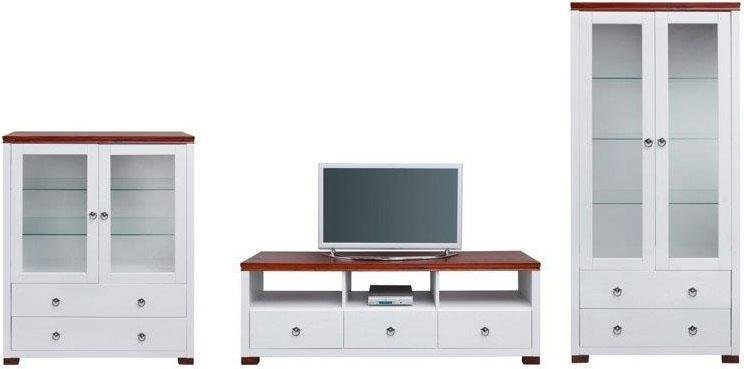 Home affaire Wohnwand »Gotland«, bestehend aus 1 Highboard, 1 TV ...