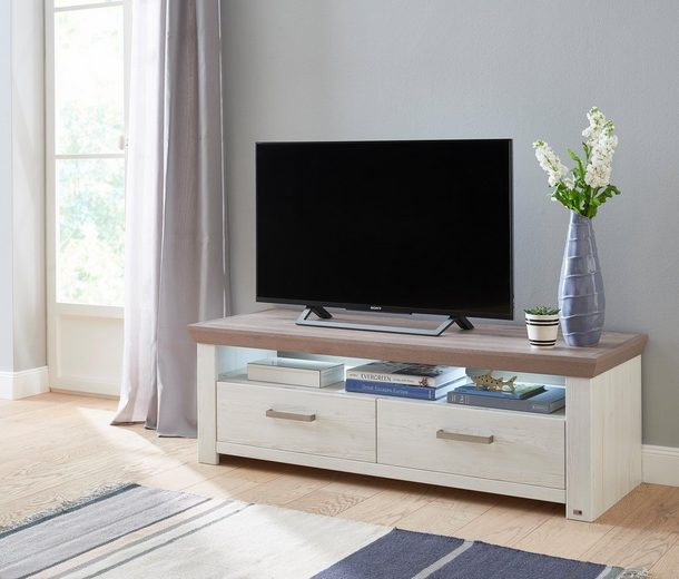 set one by musterring lowboard york typ 31 pino aurelio. Black Bedroom Furniture Sets. Home Design Ideas