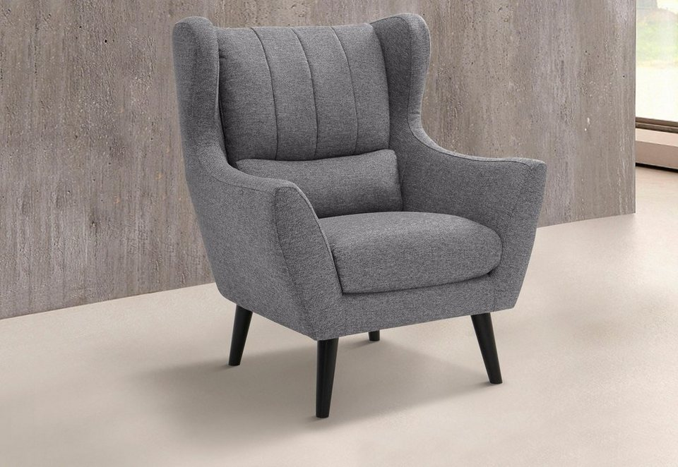 Gmk home living loungesessel valga kaufen otto for Samt sessel rosa