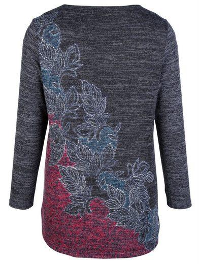 MIAMODA Pullover aus elastischem Feinstrick-Material