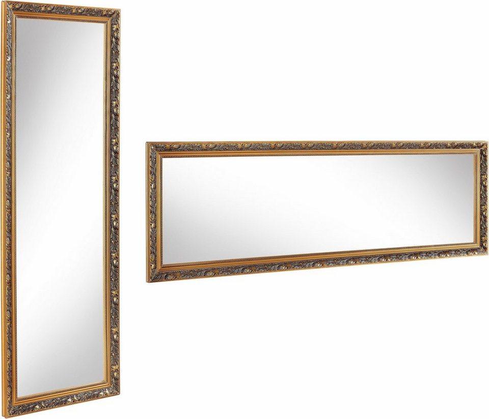 home affaire gerahmter spiegel pius i 50 150 cm otto. Black Bedroom Furniture Sets. Home Design Ideas