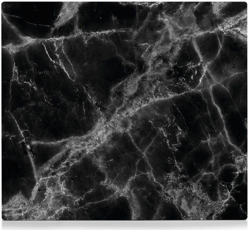 Zeller Present Xl Herdblende Arbeitsplatte 56x50 Cm Marmor