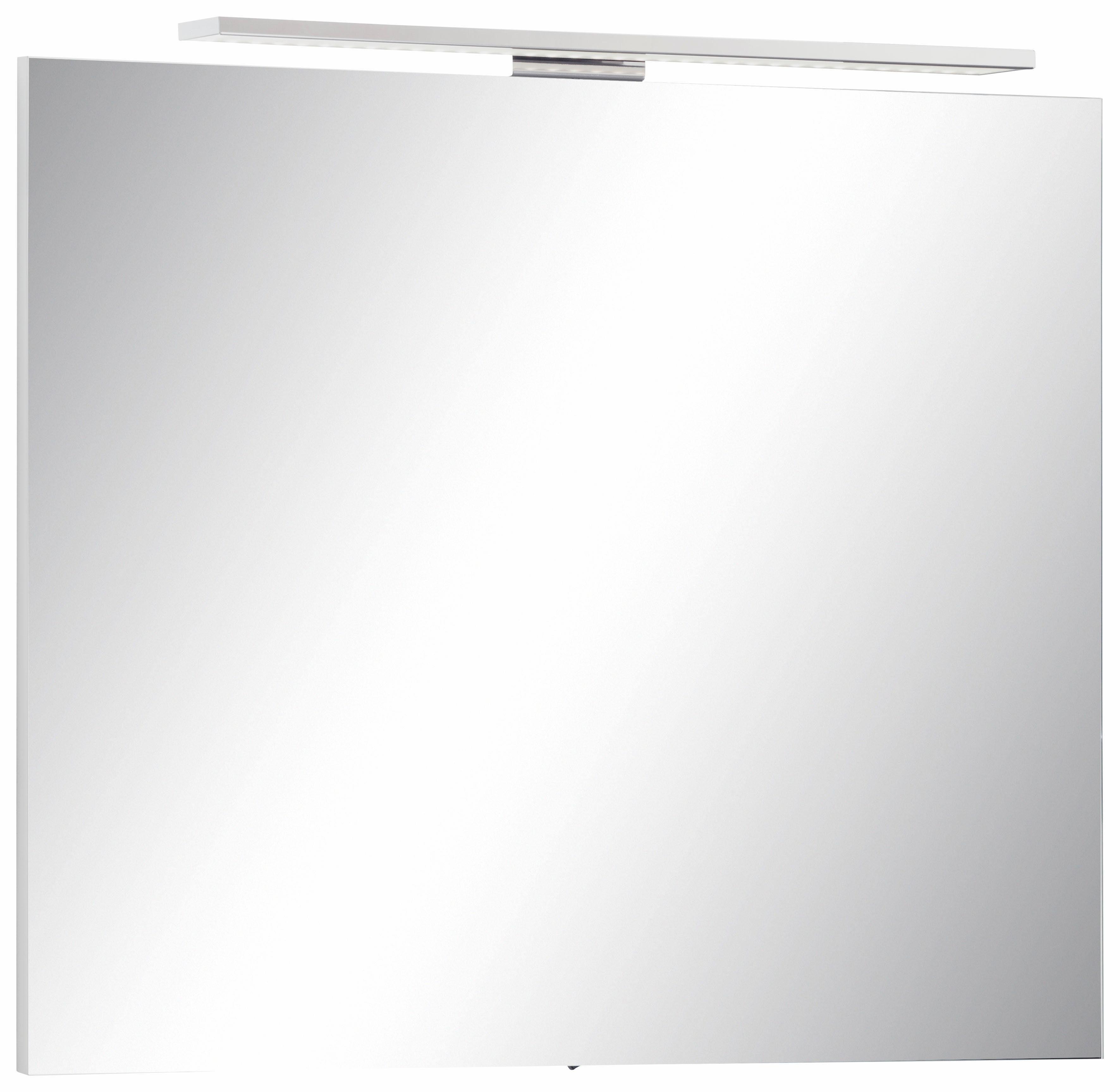 MARLIN Spiegel »Sola 3130« mit LED-Beleuchtung, Breite 80 cm