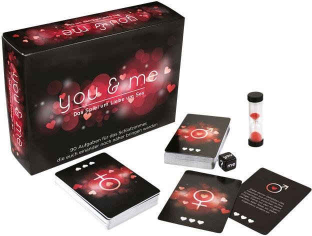 Orion Erotik-Spiel, »you & me«, Entdeckungsreise für Paare
