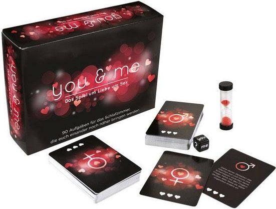 Erotik-Spiel, »you & me«, Entdeckungsreise für Paare