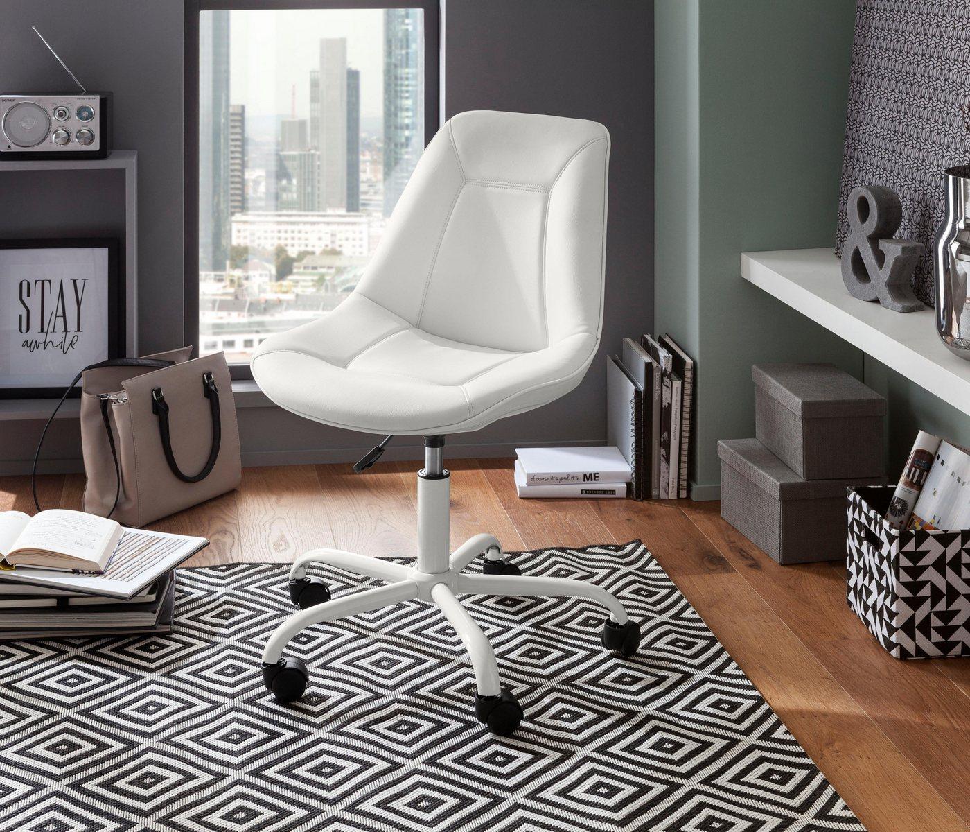 Bürostühle - Bürostuhl »Kenny«, Sitz und Rücken gepolstert » weiß  - Onlineshop OTTO
