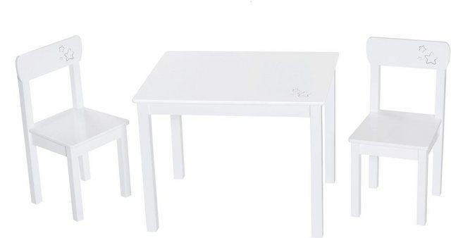 Sitzmöbel - roba® Kindersitzgruppe »Weiß«, (3 tlg)  - Onlineshop OTTO