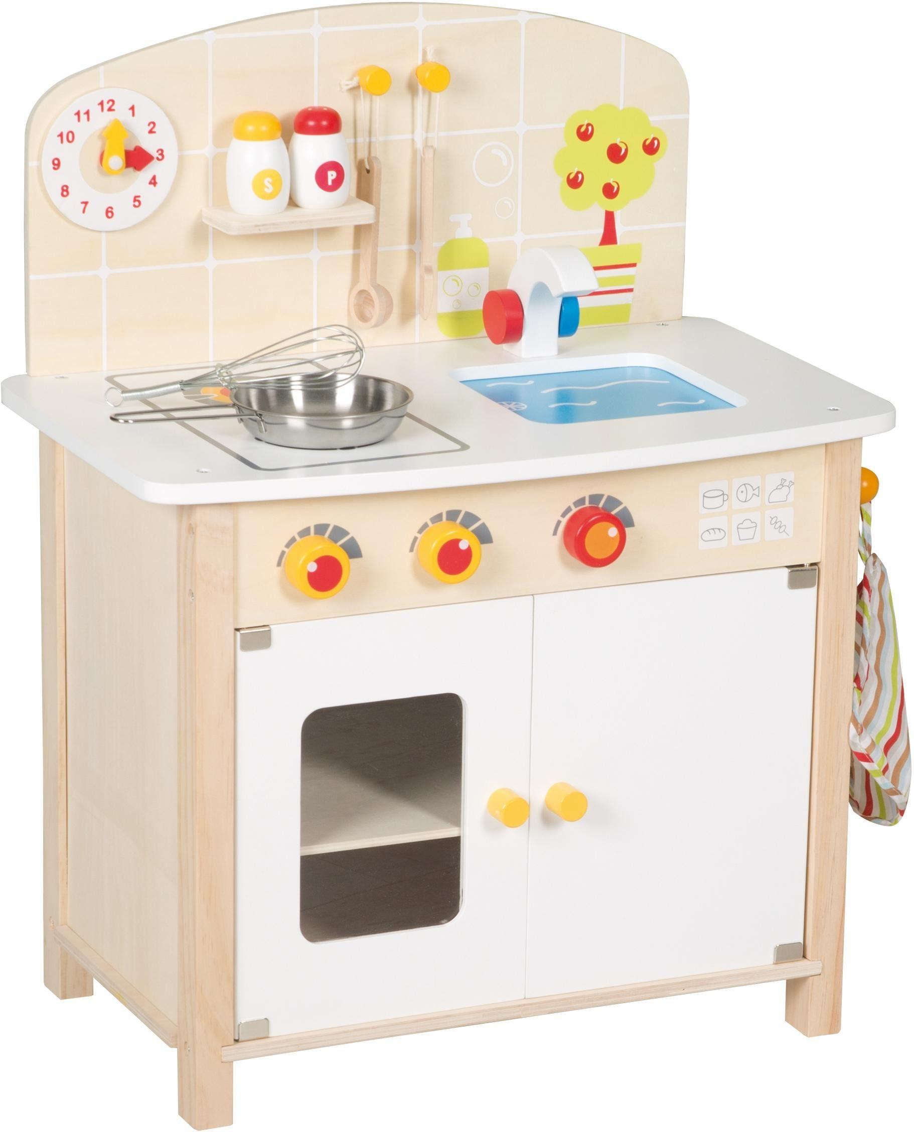 Roba Spielküche, »Kinderküche, weiß/natur«