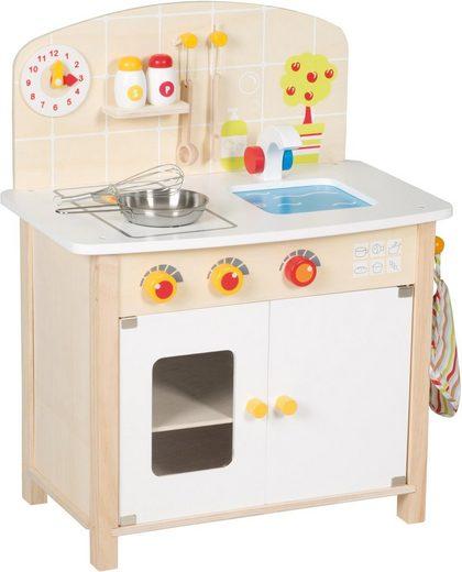 Roba® Spielküche »Weiß/Grau« Holz, mit Zubehör