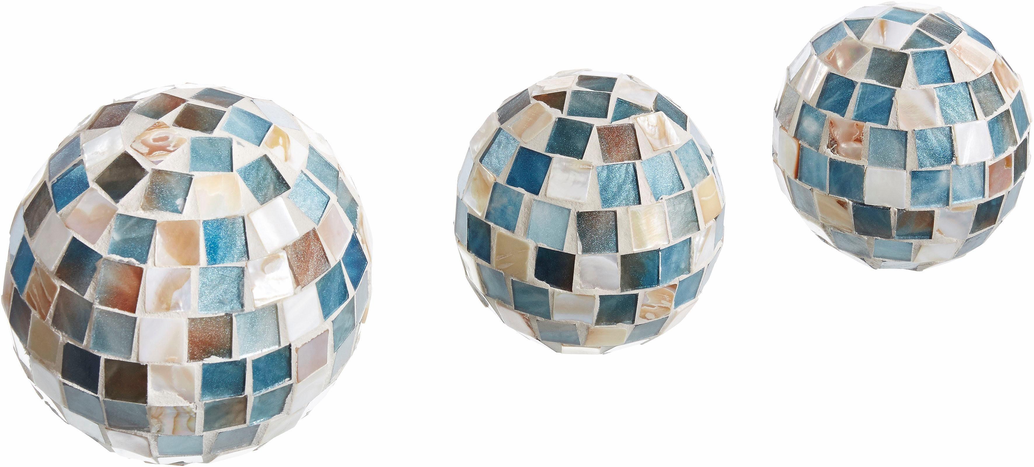 Home affaire Dekokugeln »Mosaik« (3-tlg. Set)