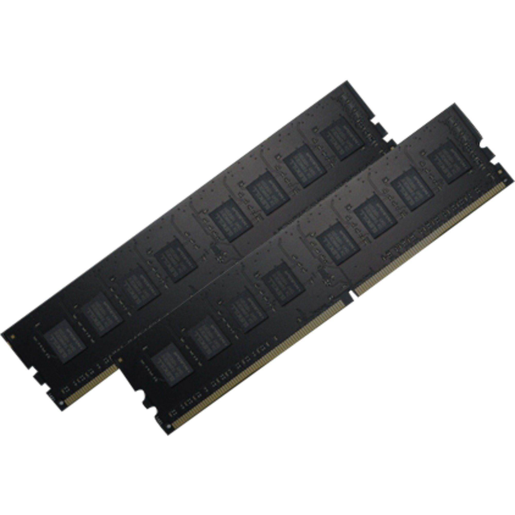 G.Skill Arbeitsspeicher »DIMM 8GB DDR4-2400 Kit, F4-2400C15D-8GNT, Value«