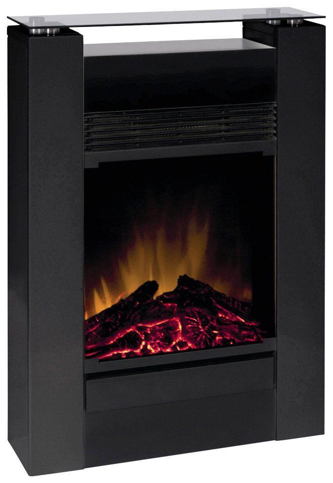 EWT Elektrisches Kaminfeuer »Gisella«, schwarz, mit Fernbedienung