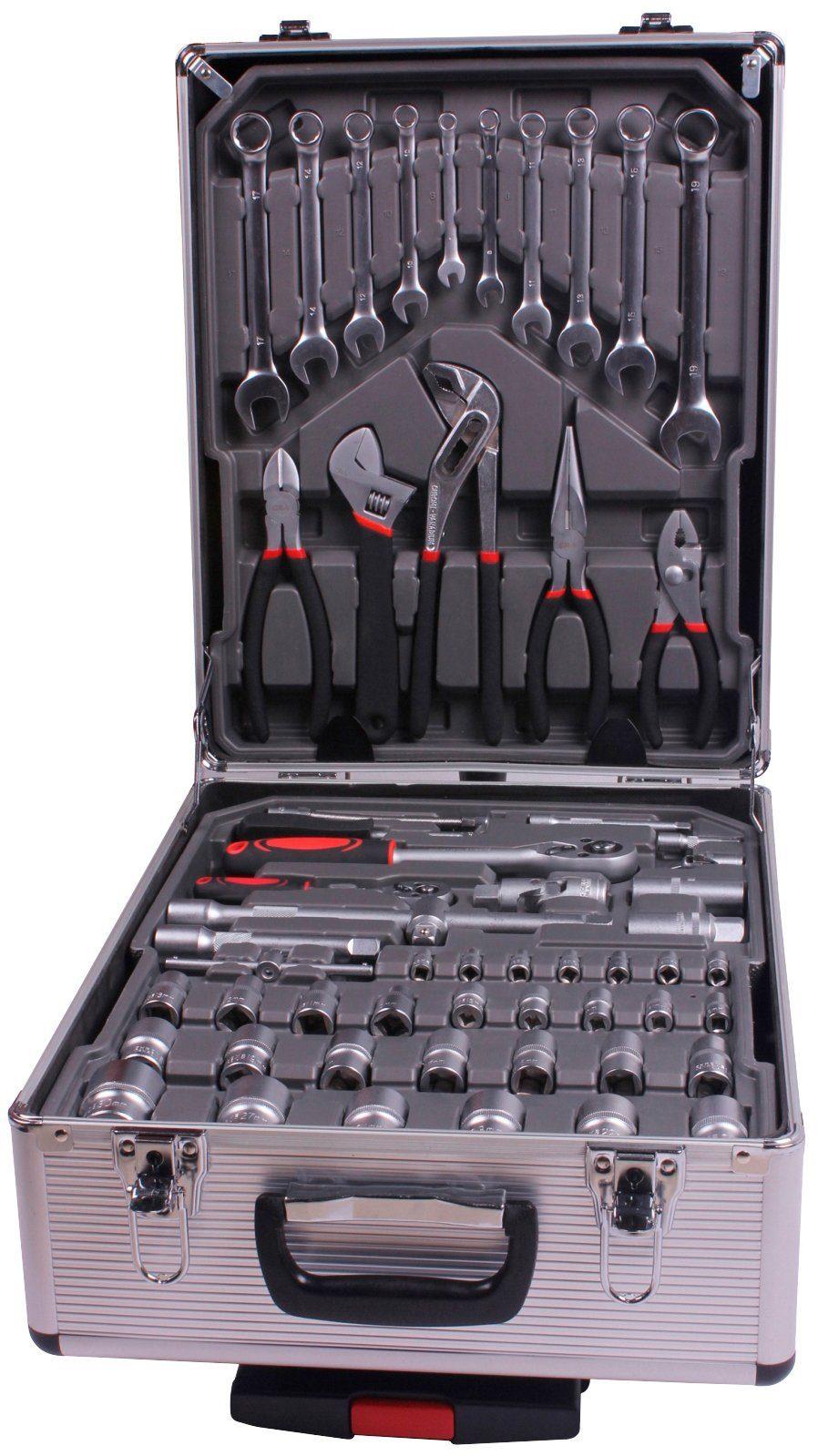Werkzeugkoffer »Werkzeug-Trolley 186-tlg.«