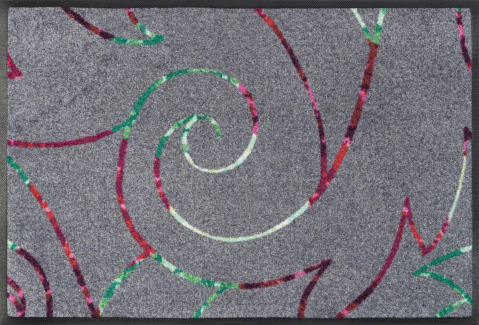 Fußmatte »Alessia«, wash+dry by Kleen-Tex, rechteckig, Höhe 7 mm