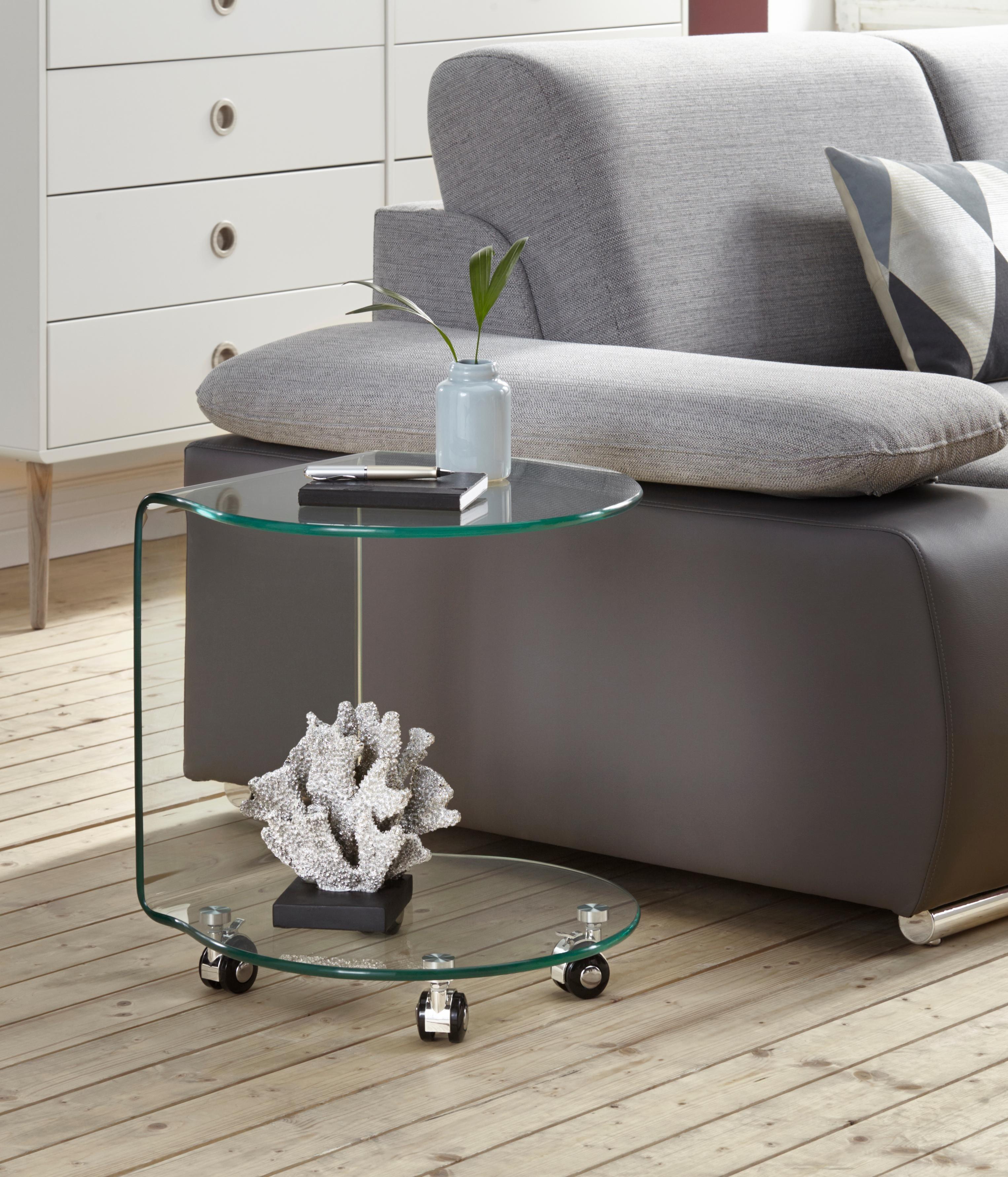 beistelltisch aus glas auf rollen preisvergleich die. Black Bedroom Furniture Sets. Home Design Ideas