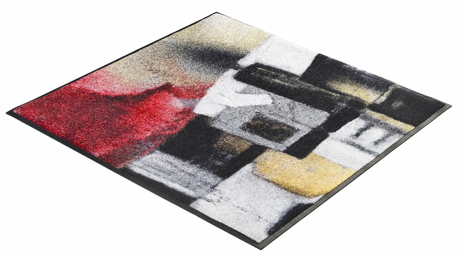 Läufer »Amore«, wash+dry by Kleen-Tex, quadratisch, Höhe 7 mm