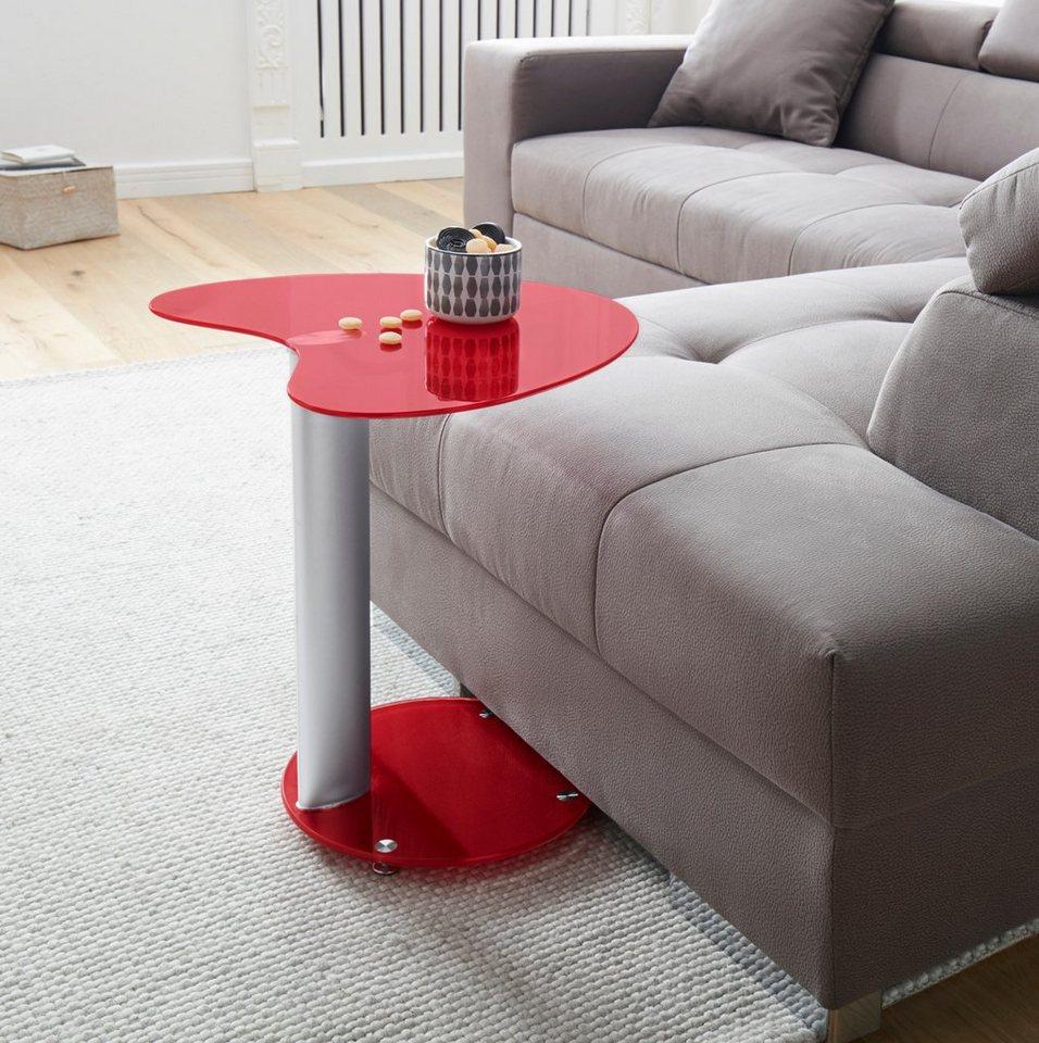 beistelltisch mit metallgestell online kaufen otto. Black Bedroom Furniture Sets. Home Design Ideas