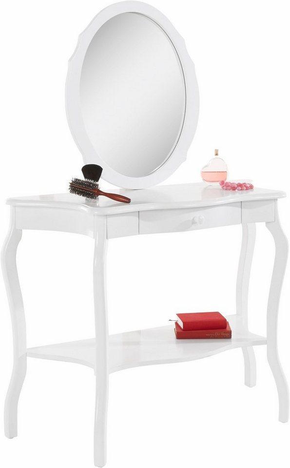 Home affaire schminktisch und spiegel im set otto for Schminktisch auf rechnung