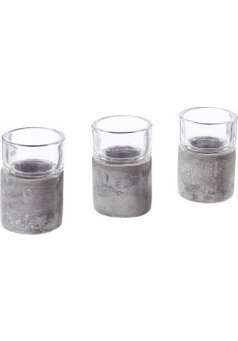 HOME AFFAIRE Žvakidė (Rinkinys 3 vienetai)