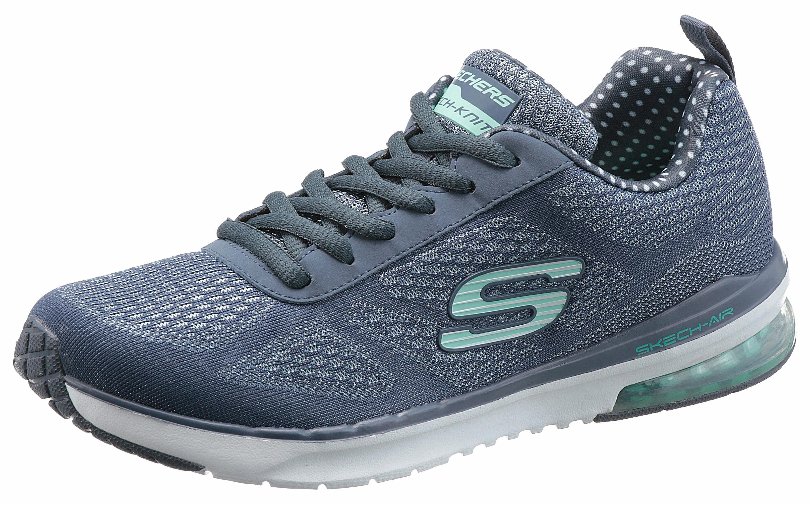 Skechers »Skech-Air Infinity« Sneaker, mit weich gepolsterter Memory Foam Ausstattung, blau, 36 36
