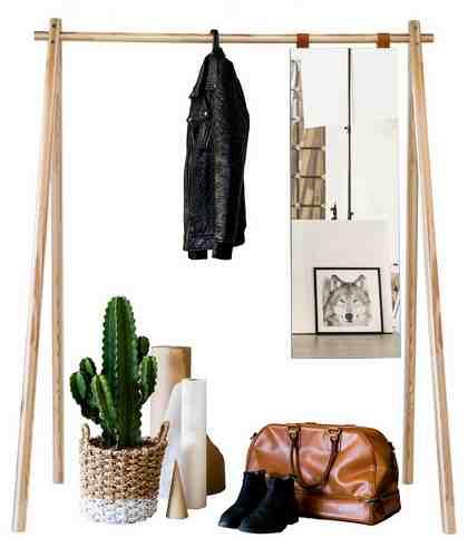 kleiderstange selber bauen diy anleitung und ideen otto. Black Bedroom Furniture Sets. Home Design Ideas