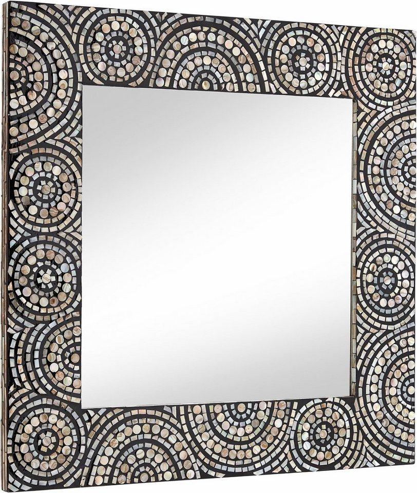 home affaire spiegel mit perlmutt belegt kaufen otto. Black Bedroom Furniture Sets. Home Design Ideas