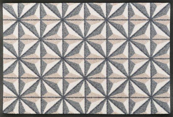 Fußmatte »Kubus«, wash+dry by Kleen-Tex, rechteckig, Höhe 7 mm