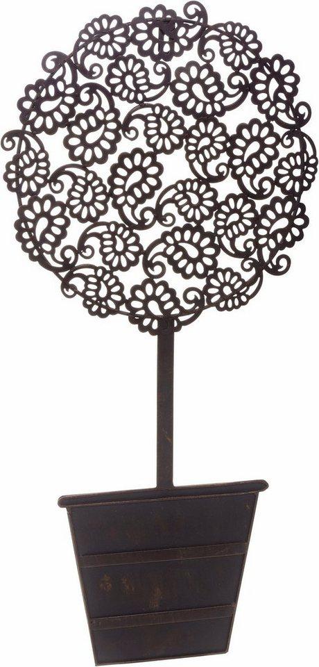 home affaire wanddeko baum aus eisen kaufen otto. Black Bedroom Furniture Sets. Home Design Ideas