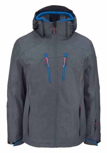 Killtec Skijacke URONT, Wasserabweisend, atmungsaktiv, winddicht