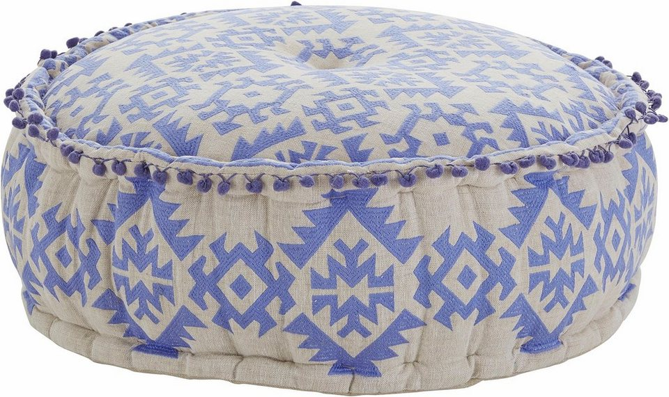 home affaire sitz pouf im boho stil online kaufen otto. Black Bedroom Furniture Sets. Home Design Ideas