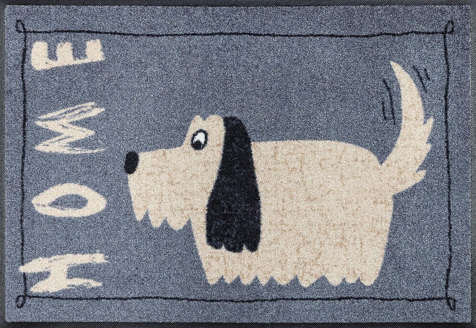 Fußmatte »Doggy Home«, wash+dry by Kleen-Tex, rechteckig, Höhe 7 mm