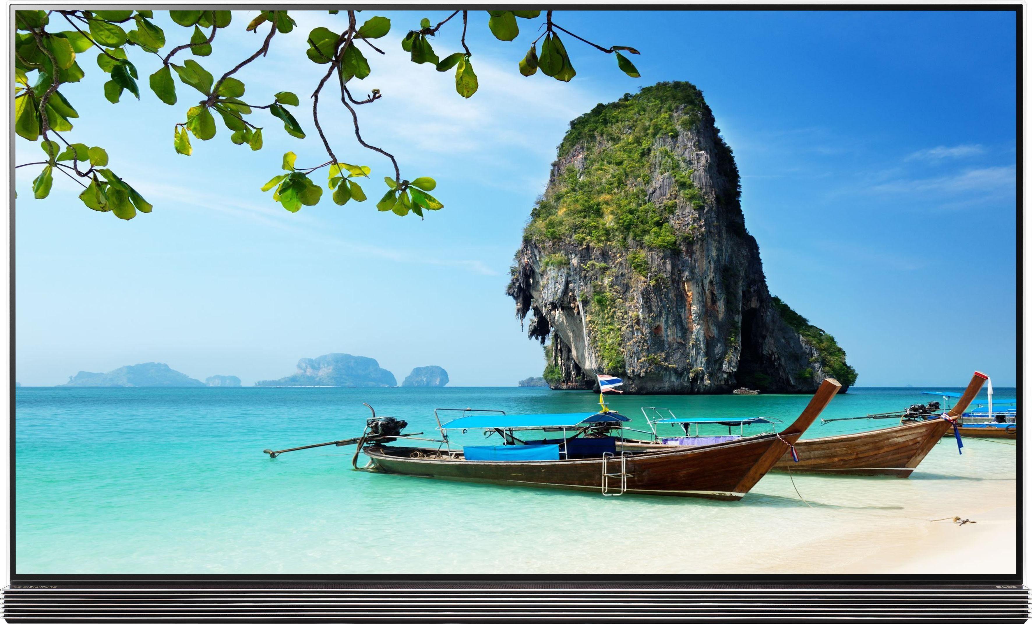 LG OLED77G7V LED-Fernseher (195 cm/77 Zoll, 4K Ultra HD, Smart-TV)