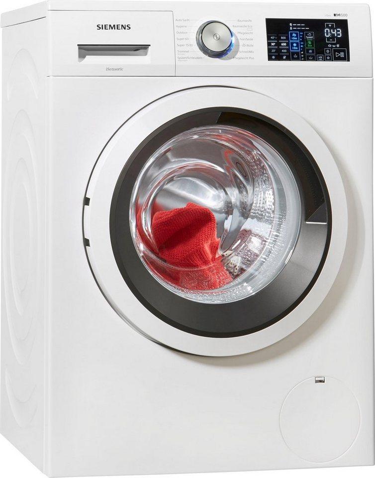 siemens waschmaschine iq500 wm14t641 8 kg 1400 u min i. Black Bedroom Furniture Sets. Home Design Ideas