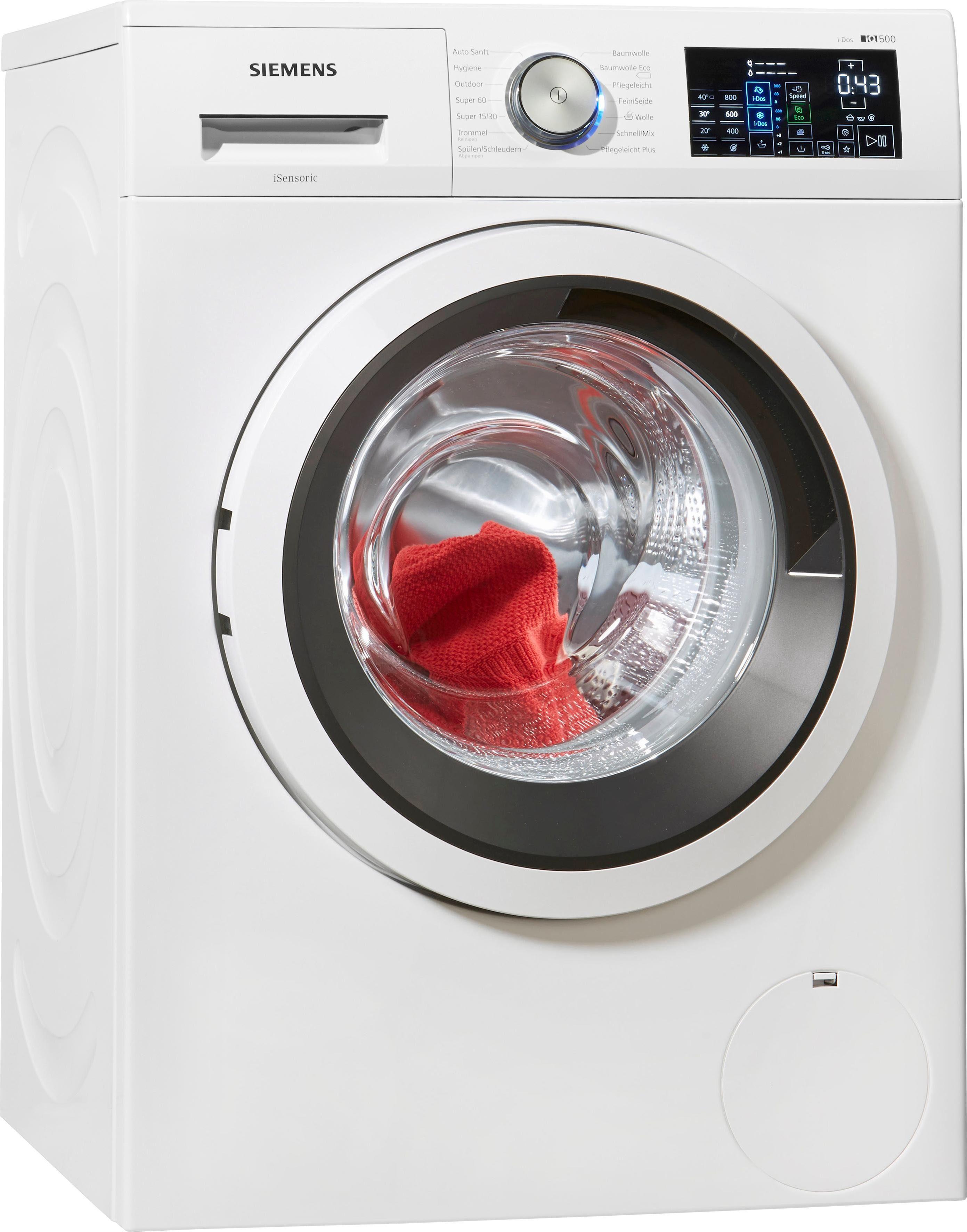 SIEMENS Waschmaschine WM14T640, A+++, 8 kg, 1400 U/Min