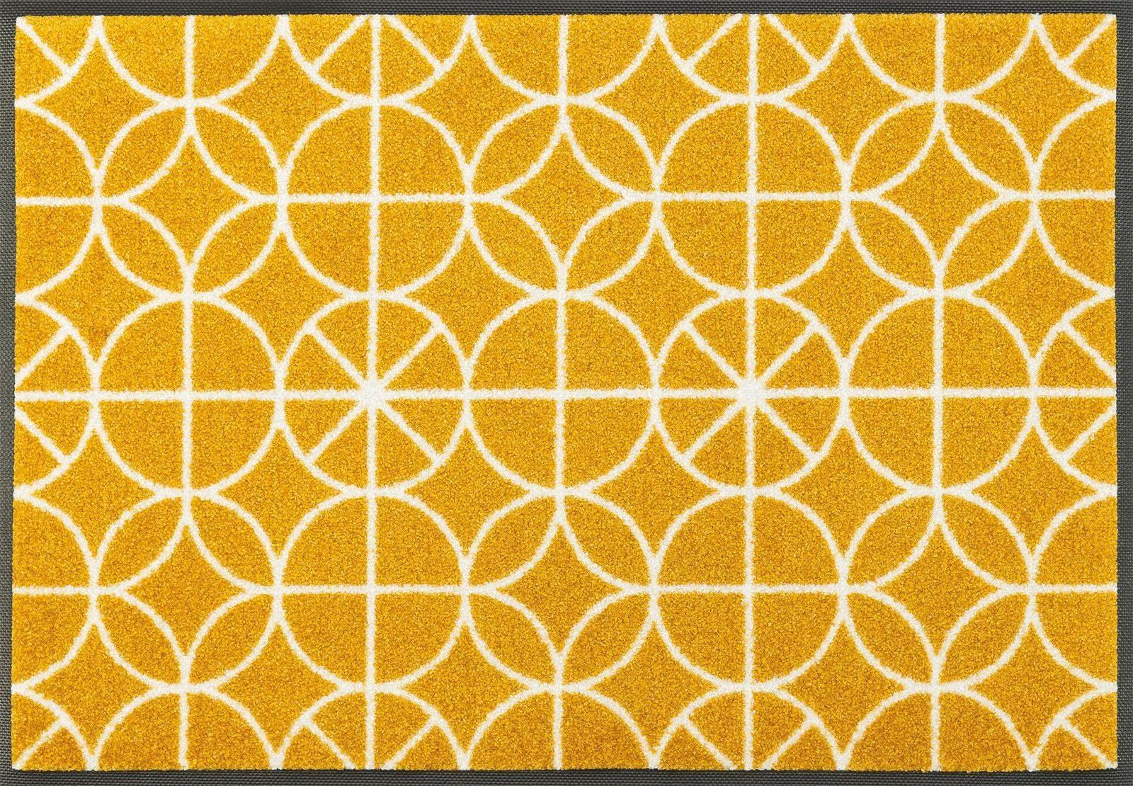 Fußmatte »Henrietta«, wash+dry by Kleen-Tex, rechteckig, Höhe 7 mm