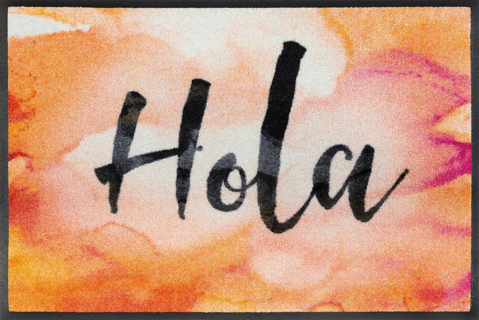 Fußmatte »Hola«, wash+dry by Kleen-Tex, rechteckig, Höhe 7 mm