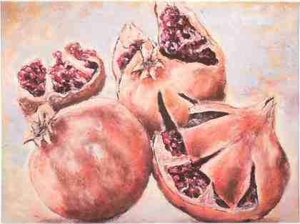 GMK Home & Living Keilrahmenbild »Granatäpfel«