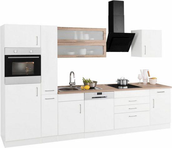 HELD MÖBEL Küchenzeile »Utah«, ohne E-Geräte, Breite 330 cm