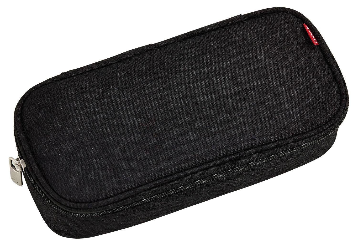 4YOU Mäppchen mit Geodreieck®, Geometric Black, »Pencil Case«