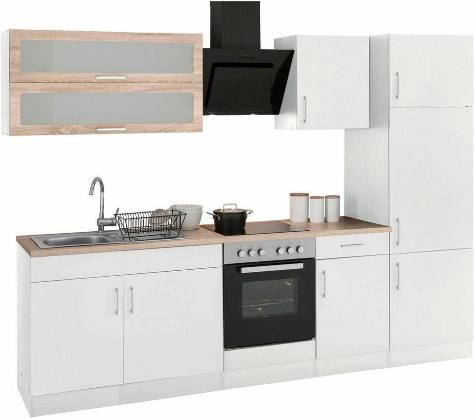 held m bel k chenzeile ohne e ger te utah breite 270 cm. Black Bedroom Furniture Sets. Home Design Ideas