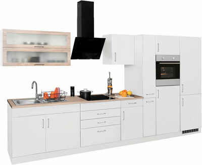HELD MÖBEL Küchenzeile »Utah«, ohne E-Geräte, Breite 380 cm