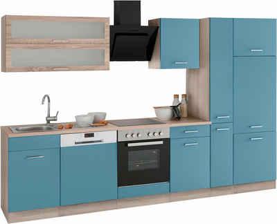 Held Möbel Küchenzeile mit E-Geräten »Utah«, Breite 310 cm Sale Angebote Gastrose-Kerkwitz