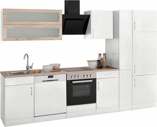 HELD MÖBEL Küchenzeile »Utah«, mit E-Geräten, Breite 310 cm