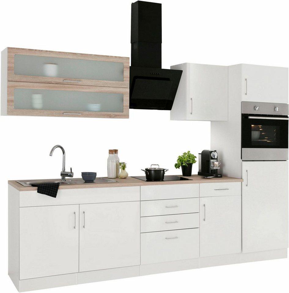 held m bel k chenzeile mit e ger ten utah breite 270 cm online kaufen otto. Black Bedroom Furniture Sets. Home Design Ideas