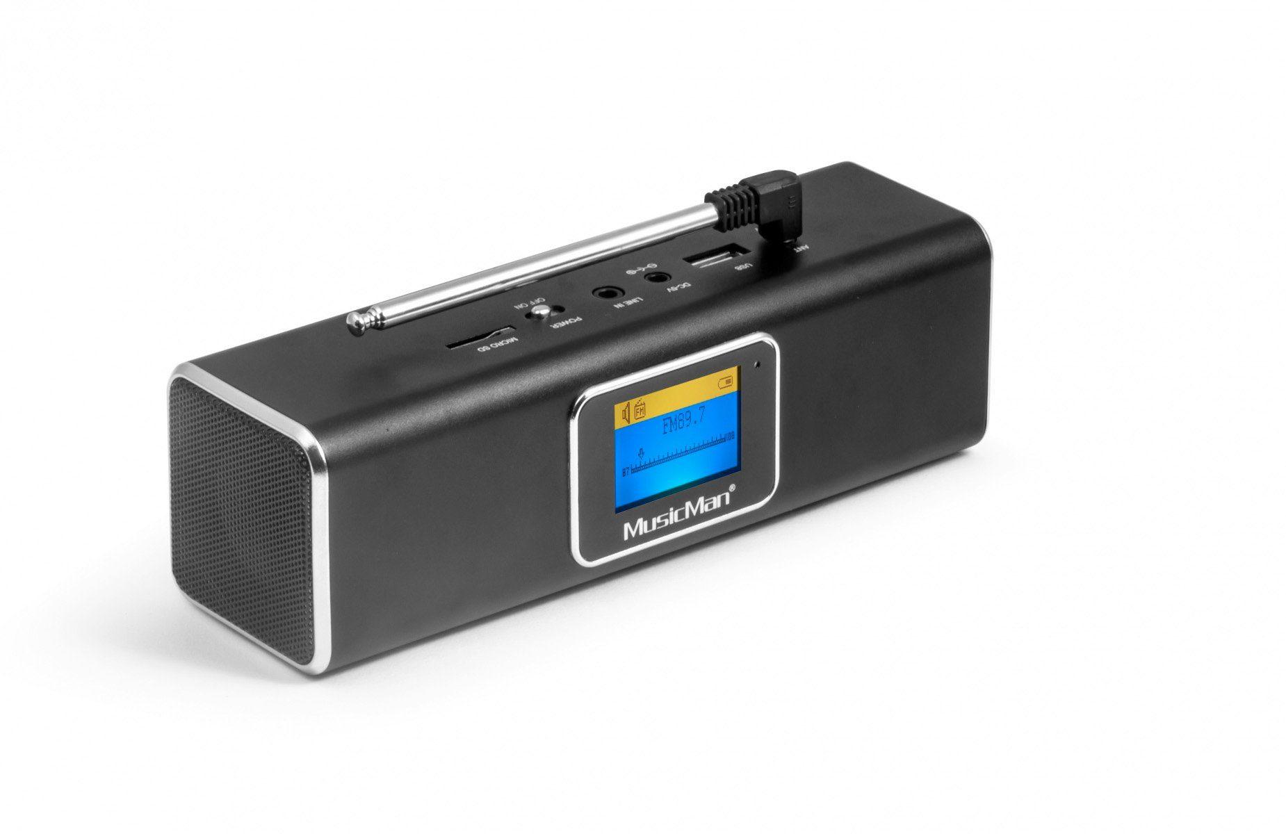 Technaxx Lautsprecher »MusicMan BT-X29 (schwarz)«