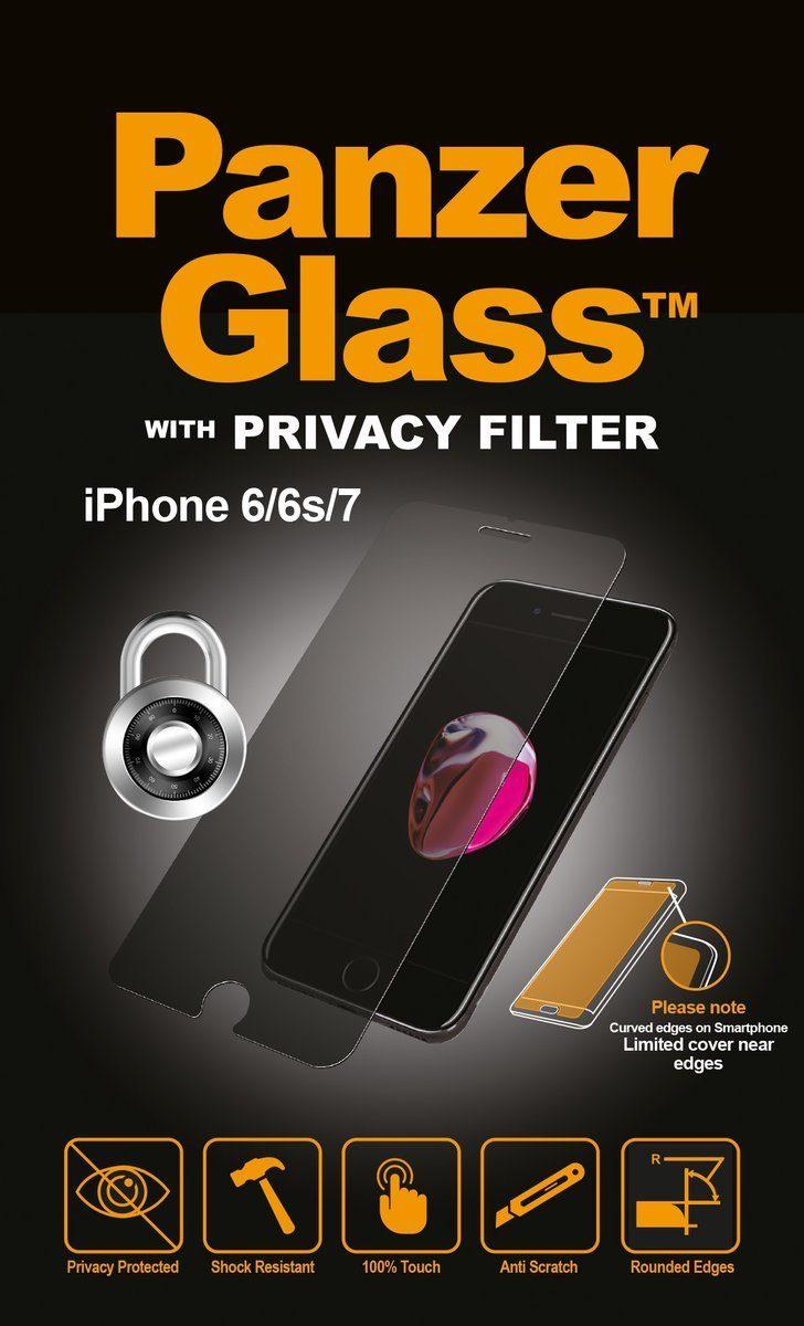 Panzerglass Folie »Apple iPhone 7 Privacy«