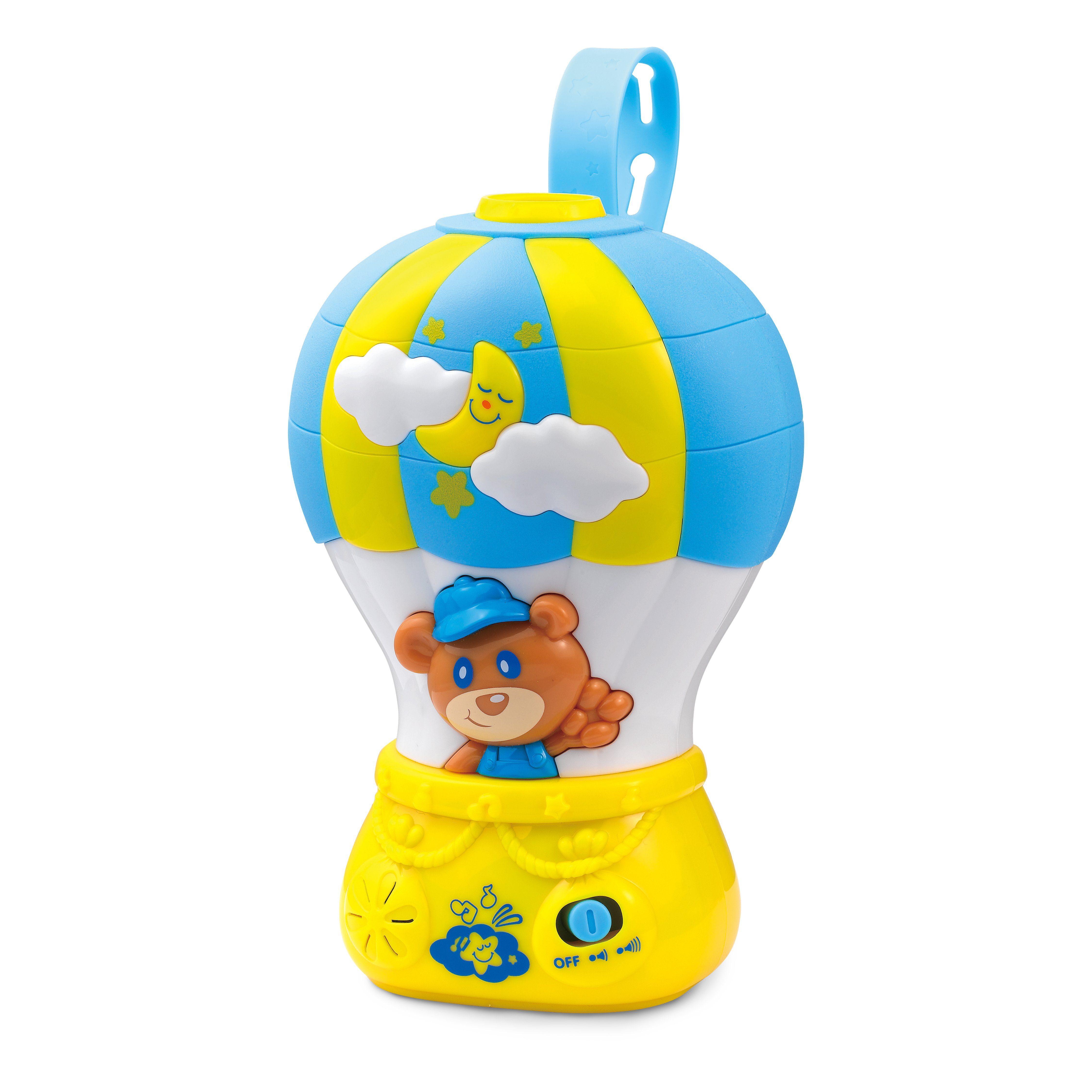 Millennium Nachtlicht-Projektor für Babywiegen mit Melodien und Bildern »Air Balloon M456«