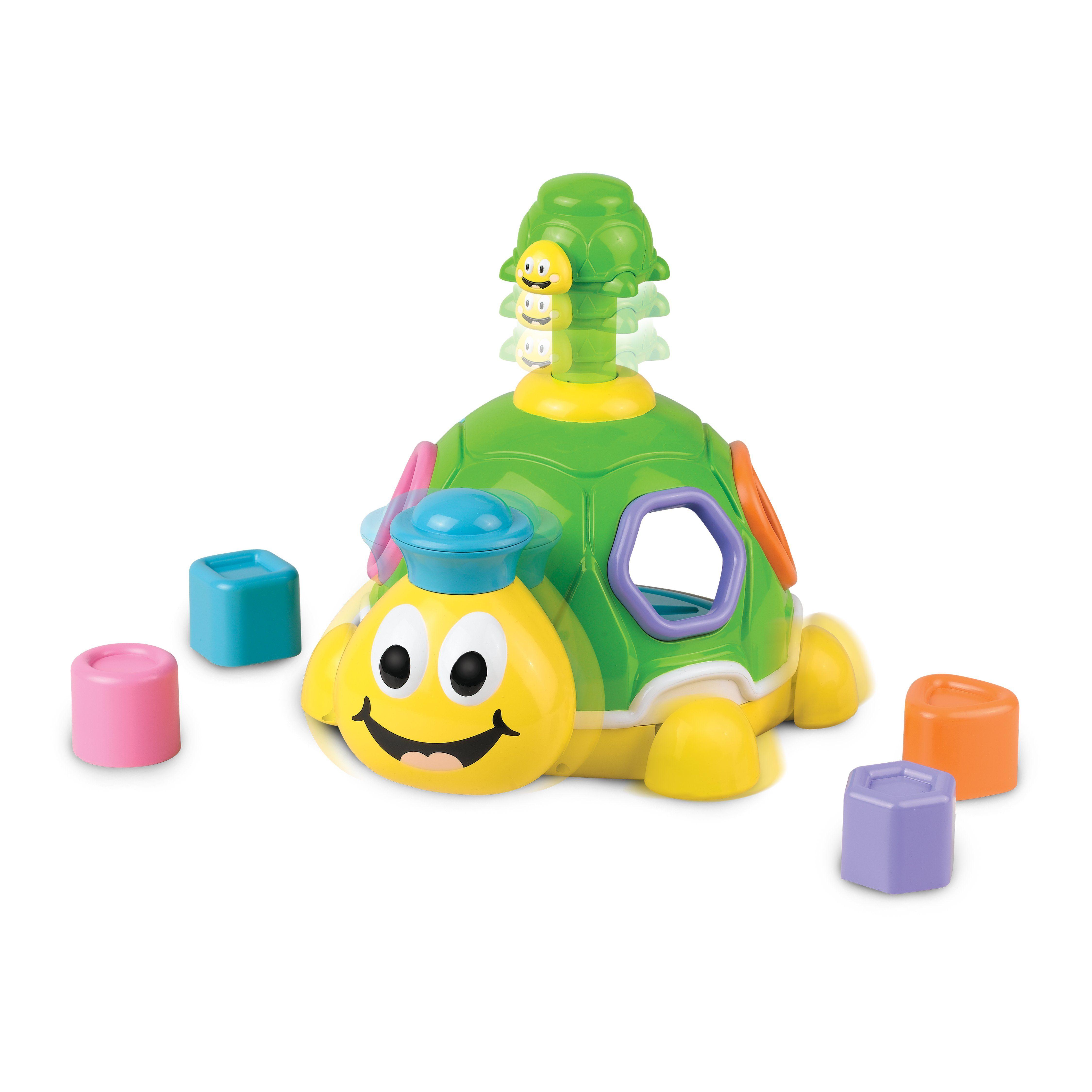 Millennium Formenspiel für Kleinkinder & Babys mit Soundeffekten »Turtle Shape M449«
