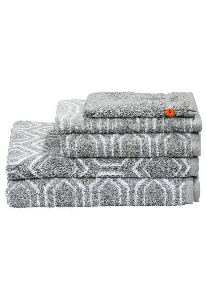 done 5 teiliges handtuch set daily shapes ethno online. Black Bedroom Furniture Sets. Home Design Ideas