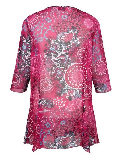 Miamoda Tunic Around Colorful Printed